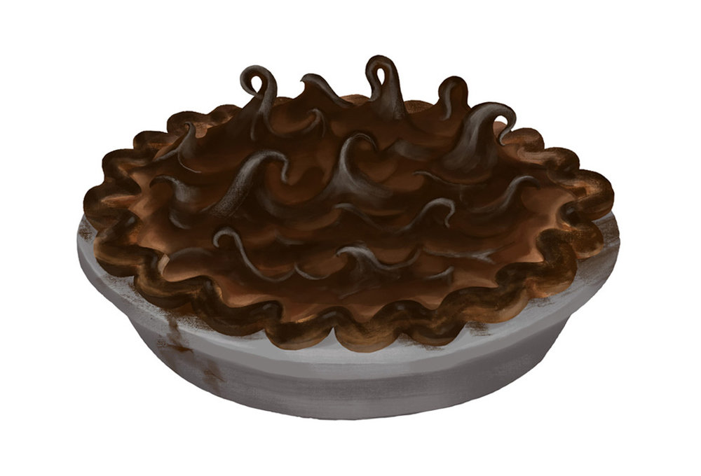 Humpty's Burnt Meringue Pie