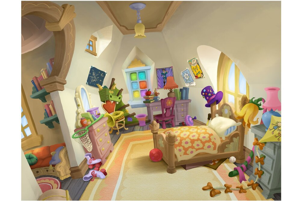 Goldie's Bedroom