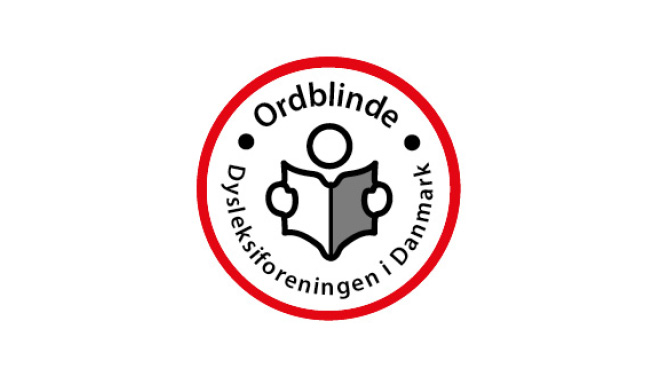 Ordblinde/Dysleksiforeningen   – Varetager interesser for mennesker med ordblindhed over for myndigheder og offentligheden