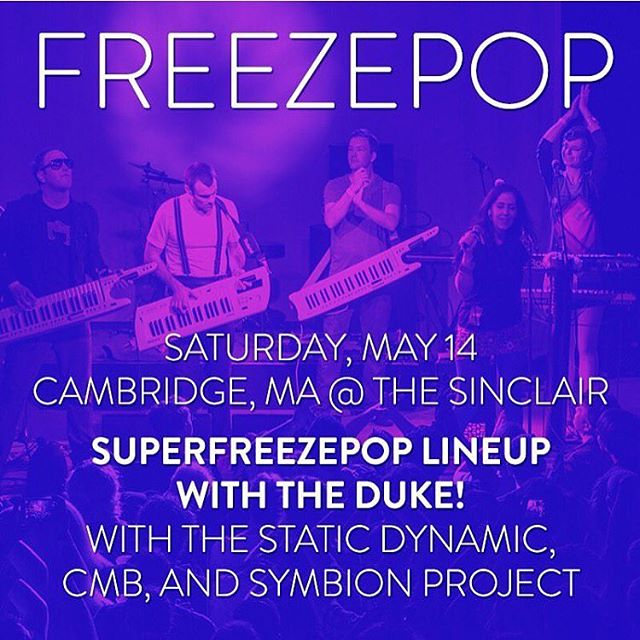 Hey ya bozo! Guess what... we are only a few days away from an epic rager at @thesinclair in Cambridge with @freezepopband. Can't wait to see ya faces.