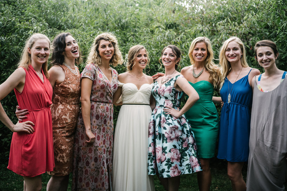 The Girls, Wedding of Annie & Silas, Bristol, Rhode Island