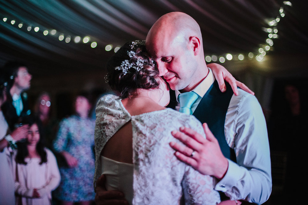 First Dance, Wedding of Hannele & Enys, Sheffield, England, UK