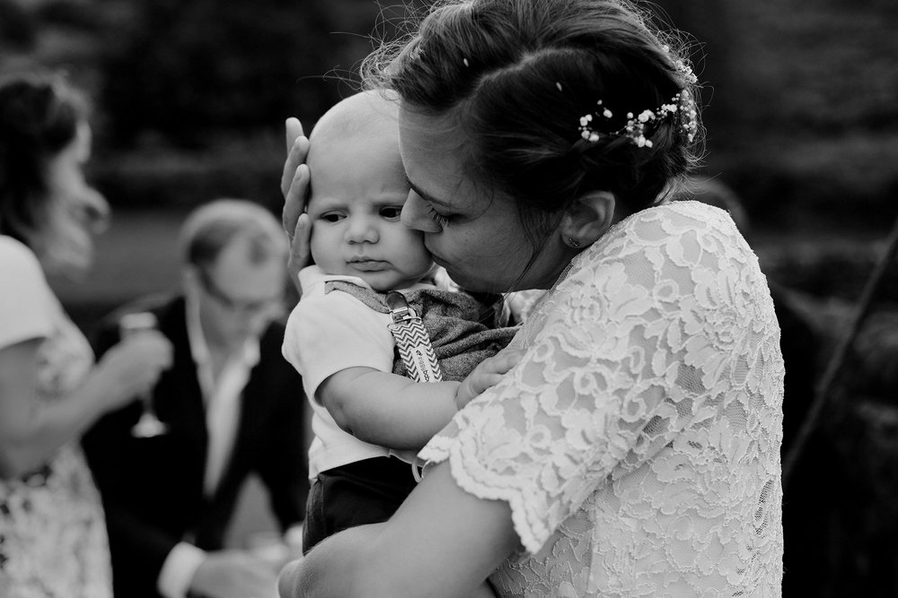 Hannele & Baby Victor, 4 Sheffield England Summer Destination Wedding