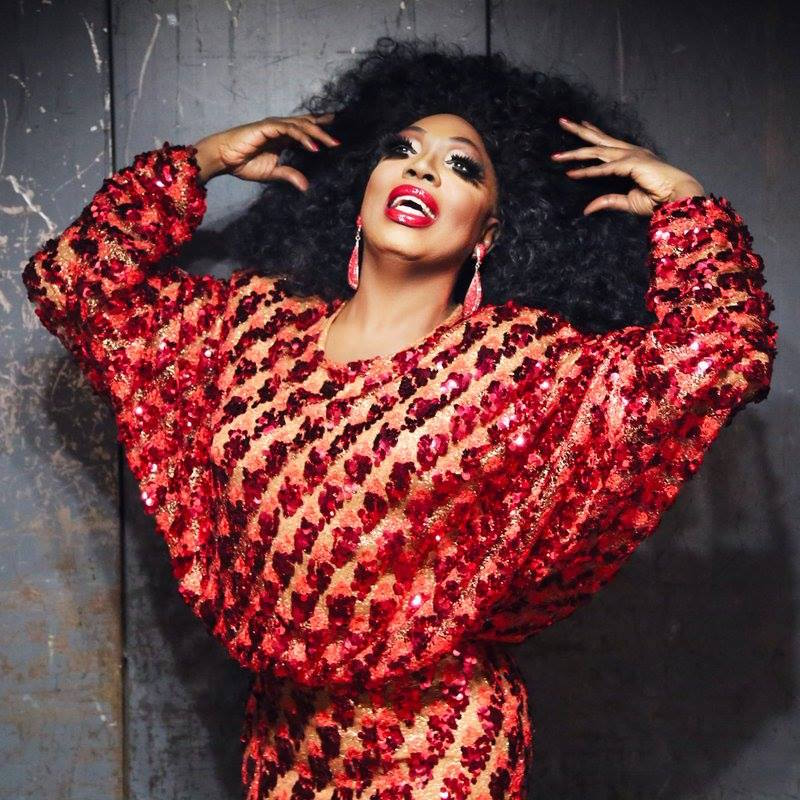Drag queen Bebe Zahara Benet as Diana Ross.
