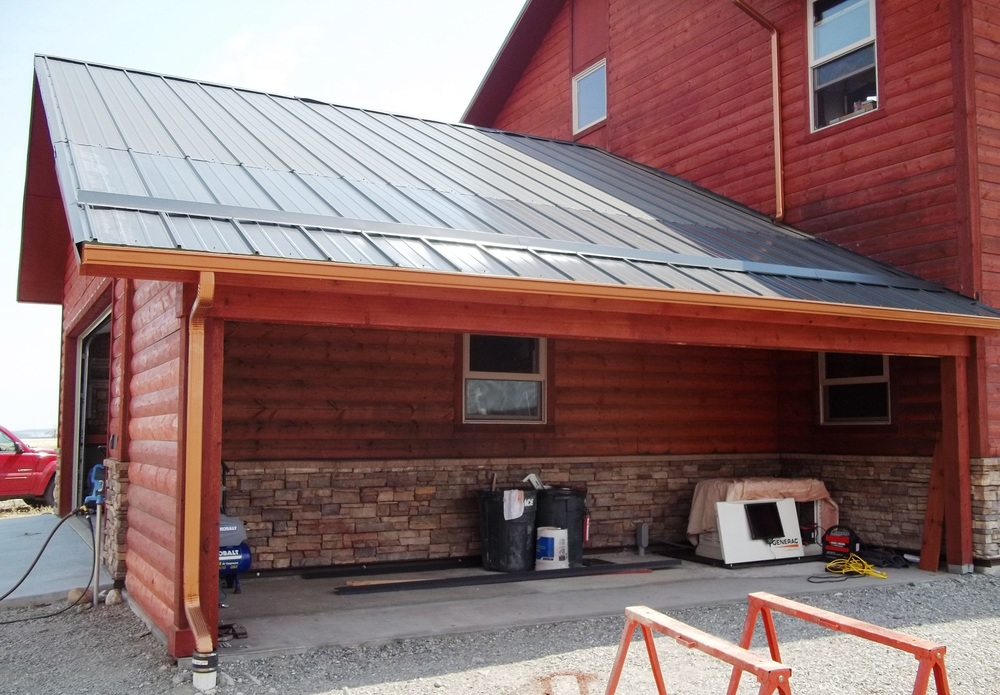 2012-07-13 - New Garage Extension with new roofing and snow guards.jpg