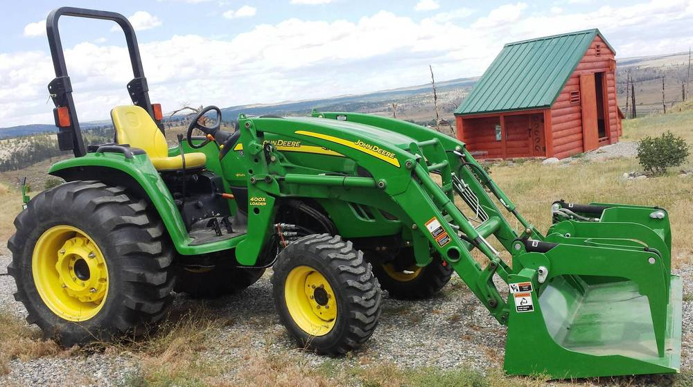 2015-07-24 - Tractor Upgraded with new Grapple Bucket - July 24 2015 #2.jpg