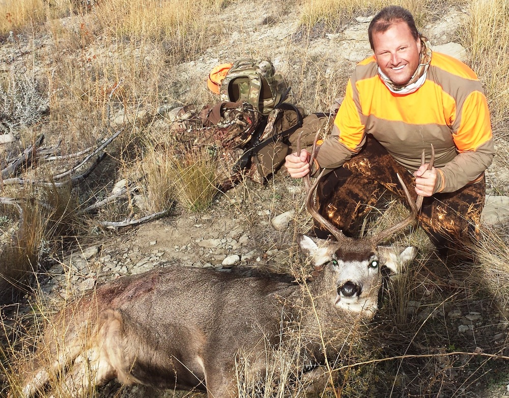 Mule Deer shot near SR1 - October 2015