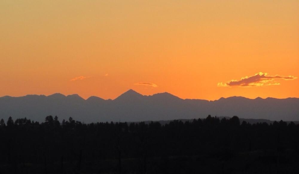 2005 - Sundown over the Crazy Mountains