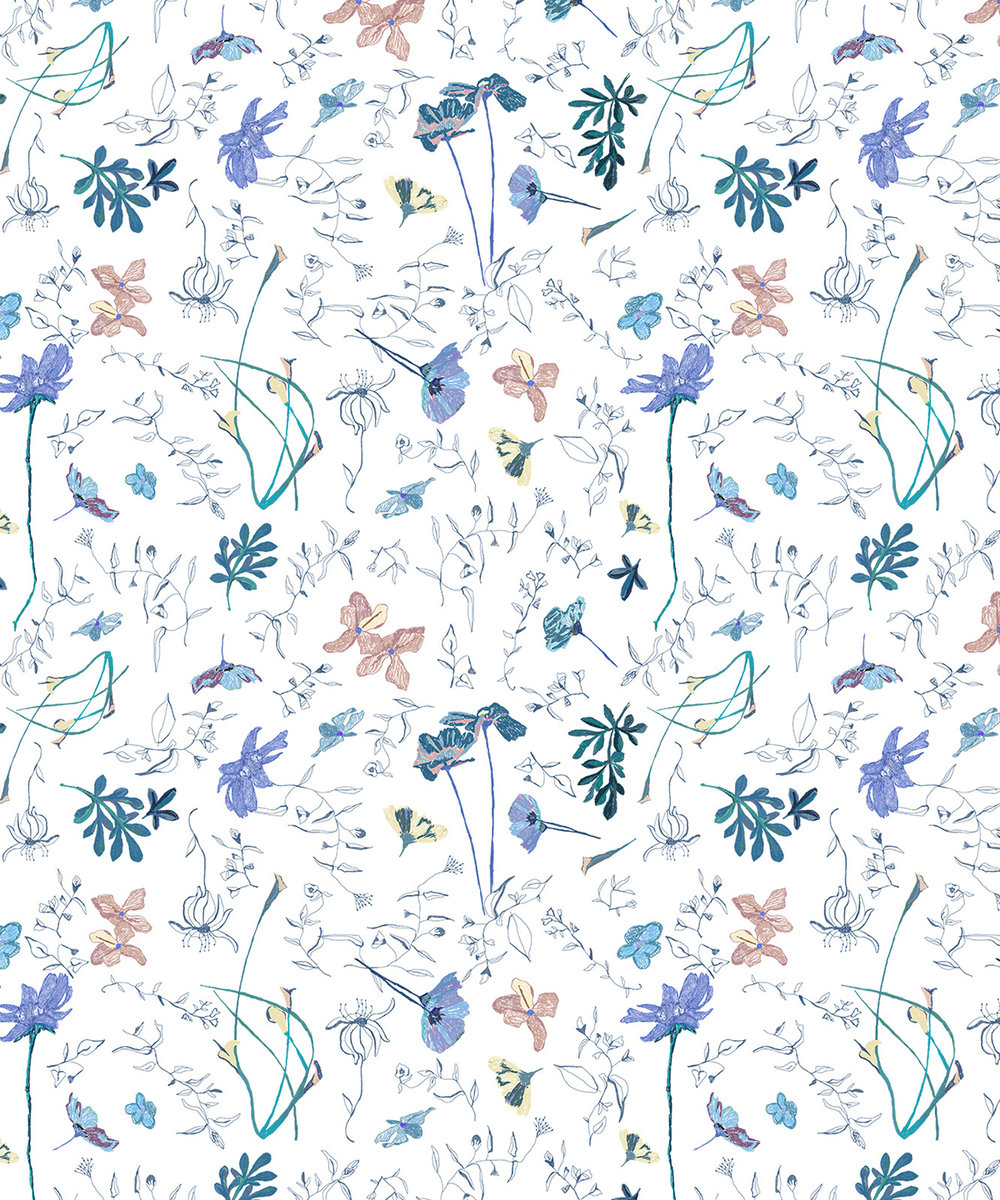 FLORAL. PATTERN 1