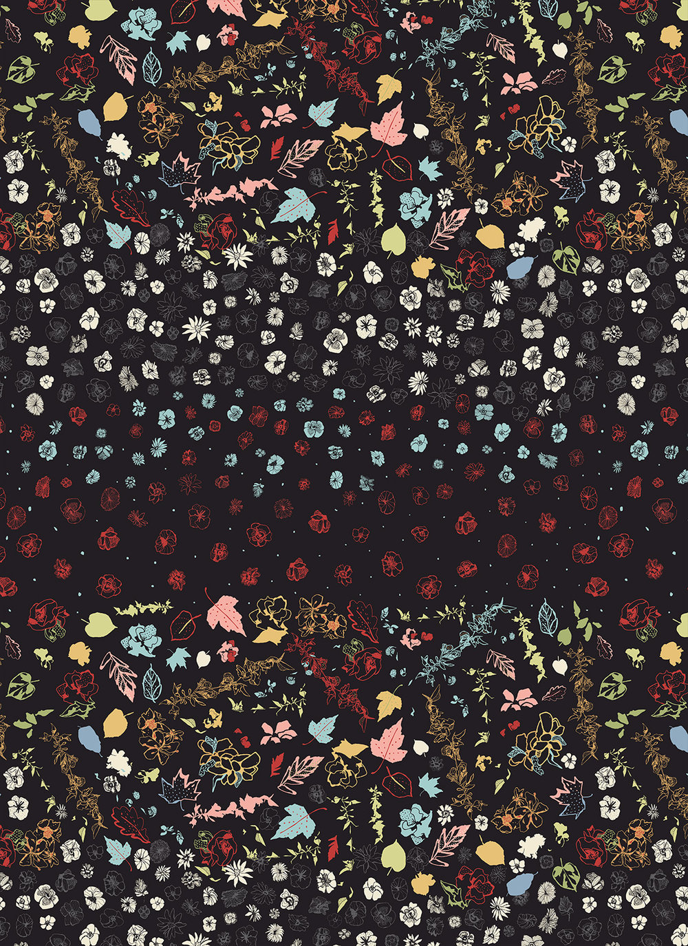 FLORAL. PATTERN 2