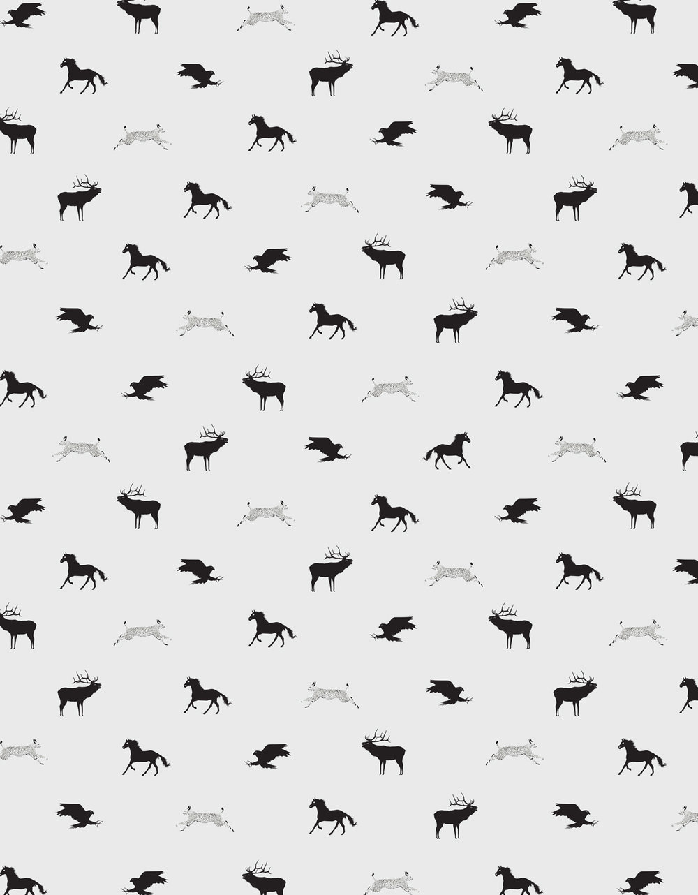 print.  animals