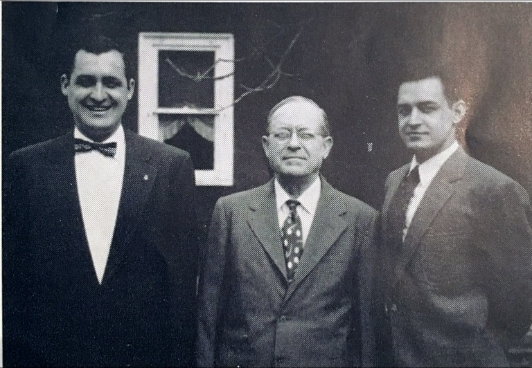 Left to right: Walter Kunda, Watson Kunda (Founder), Tom Kunda
