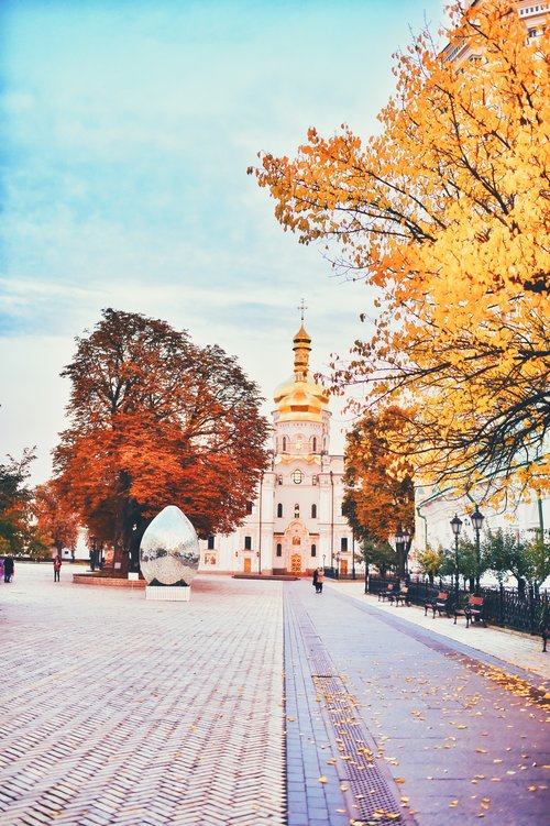 fall in kiev-pecherska lavra/осенняя лавра