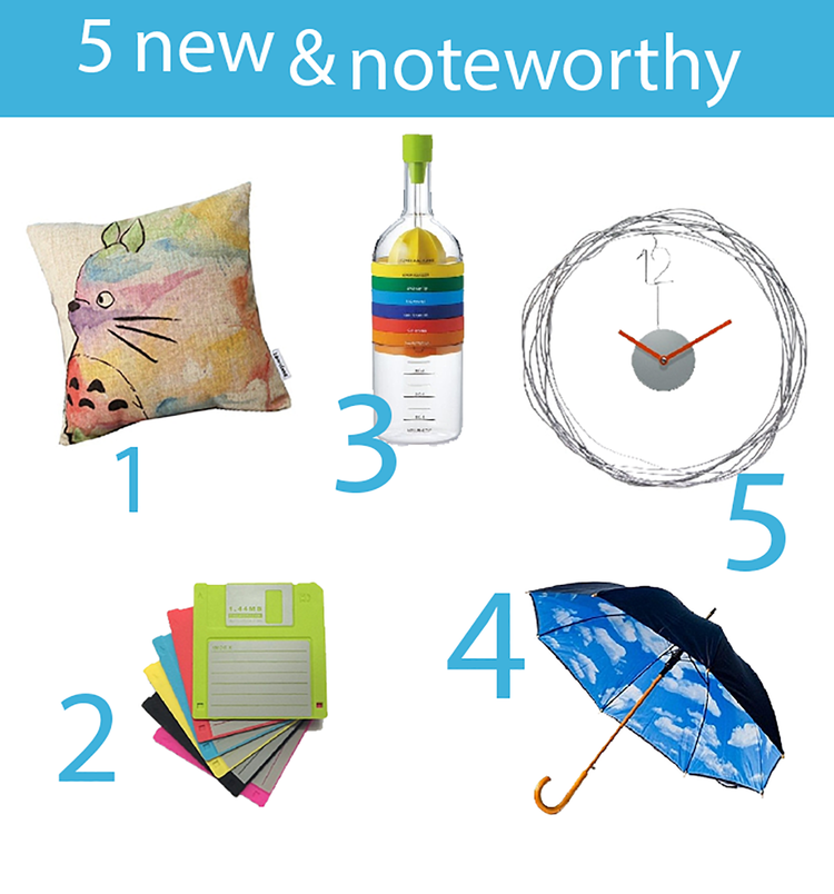 5 new & noteworthy things