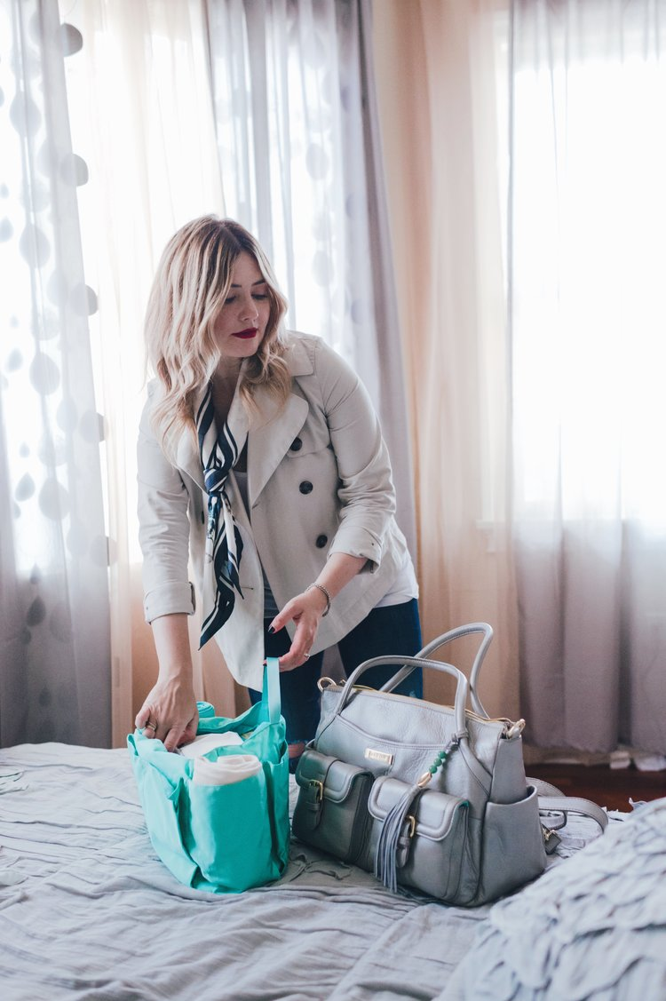 in my bag: newborn necessities