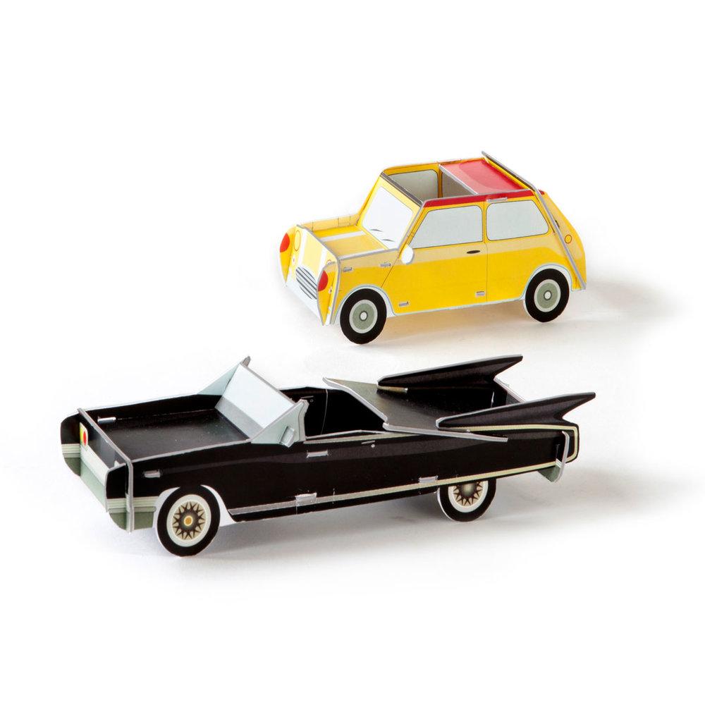 Studio Roof 3D Puzzle Cars