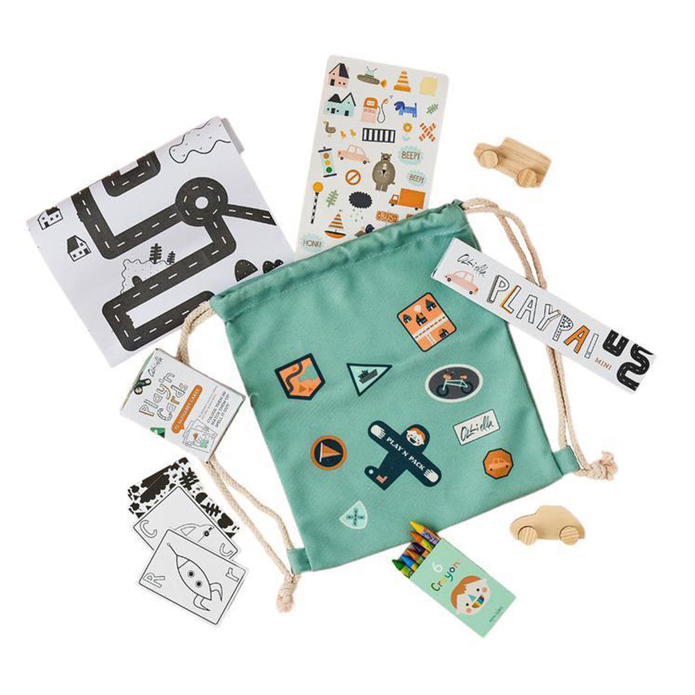 Pack & Play City - For the kids on the go, this is a great activity set that comes with it's own bag to carry on play on the go.
