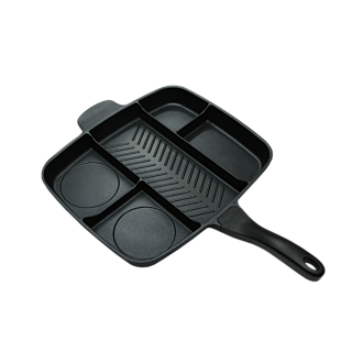 Masterpan 5-Section Skillet - Feel like a pro and save time at the same time by making several parts of your meal all at once in the same pan. Perfect for that upcoming chef or foodie on your list.