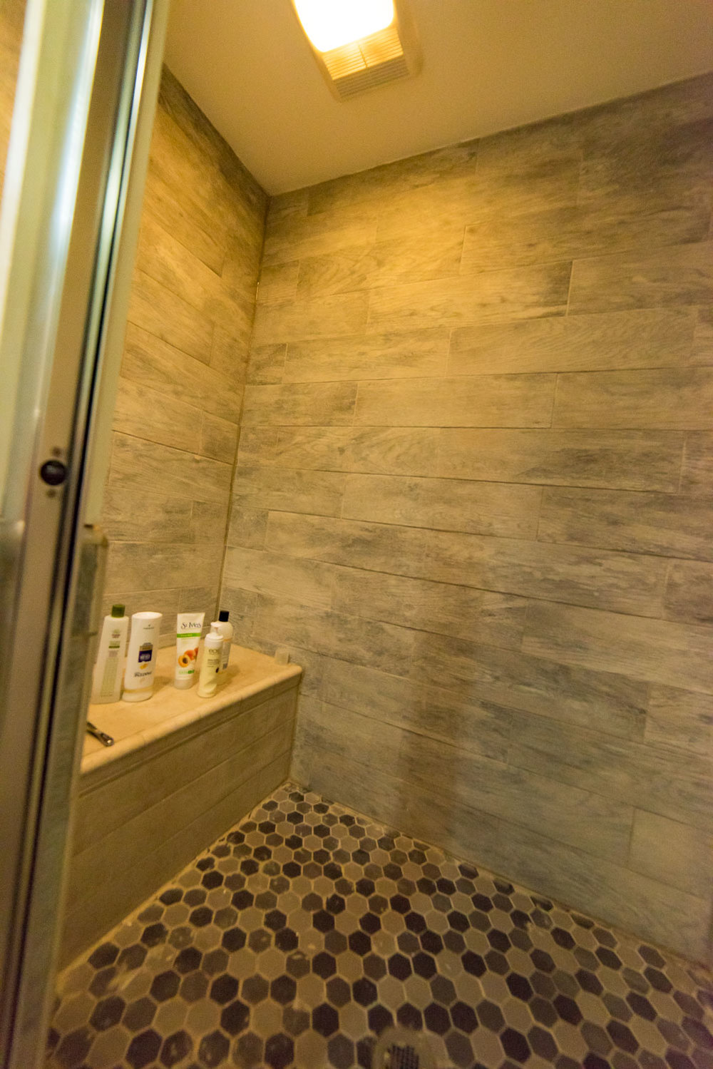 Hillside Apartment Shower
