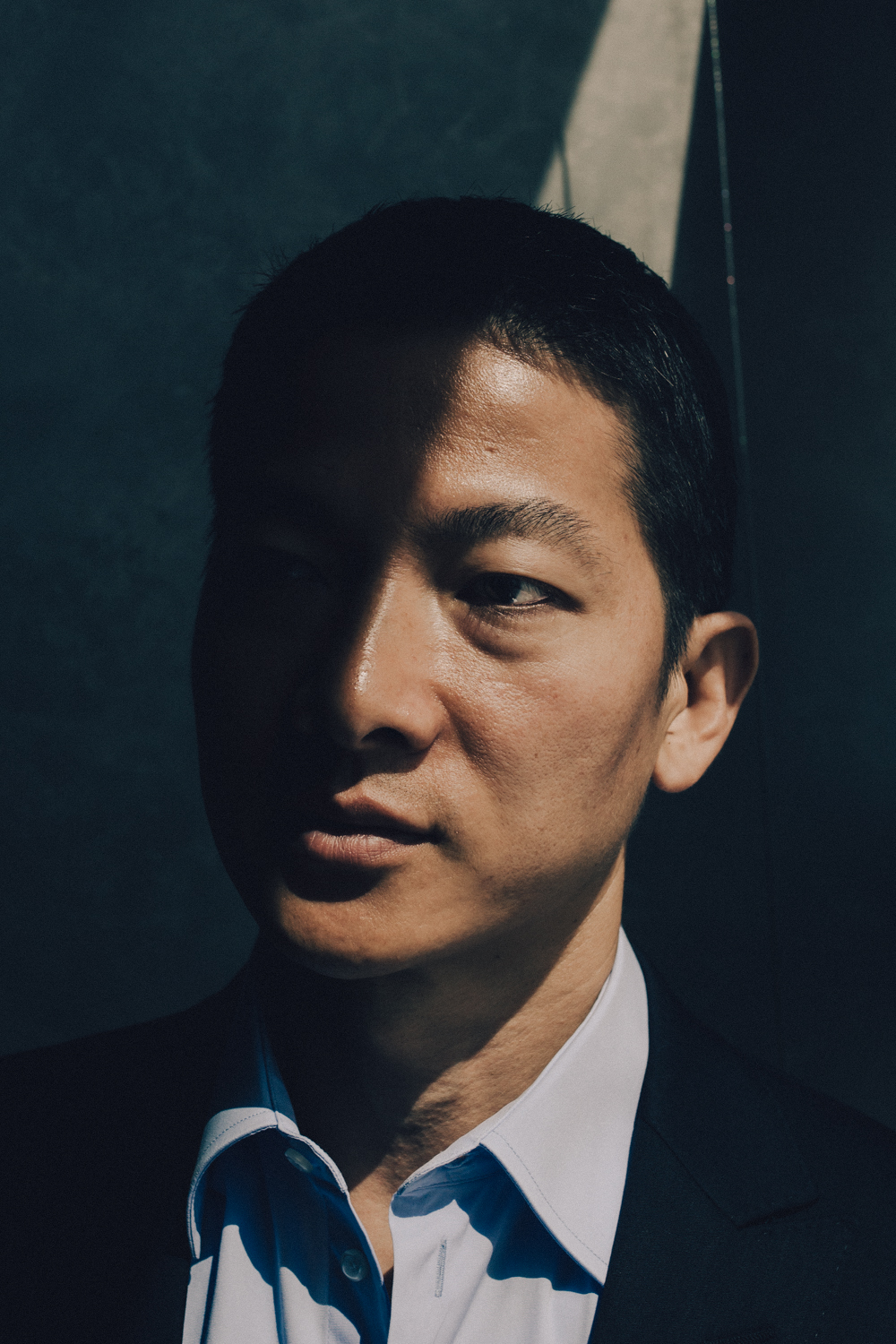 Peng Xiao – who's company Pegasus works under UAE cyber security specialists DarkMatter – photographed at the DarkMatter HQ in Abu Dhabi for Inc. Arabia.