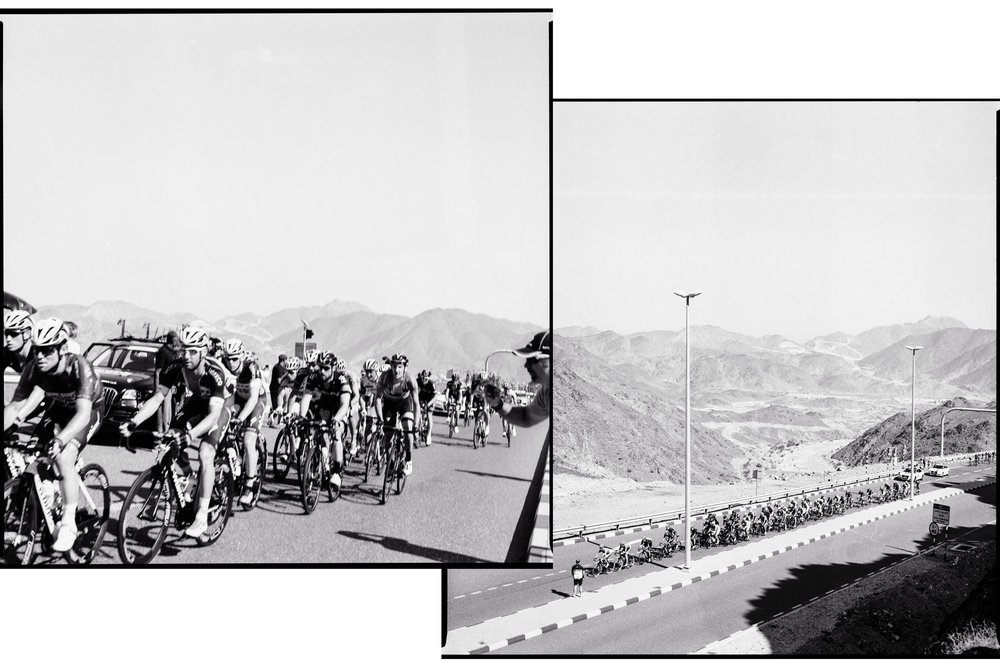 The 2015 Dubai Tour passes through Hatta.