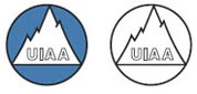 Products with the UIAA mark meet the testing standards of the International Mountaineering and Climbing Federation