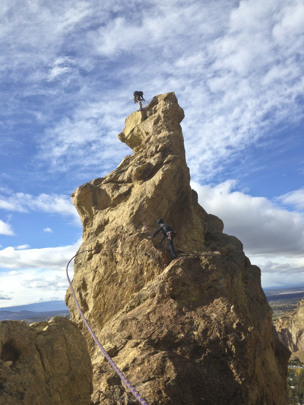 Brogan Spire, Smith Rock (OR)