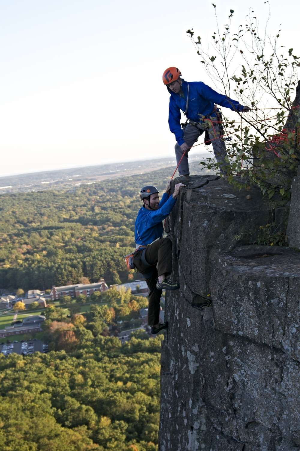 Wiessner's Rib (5.6+) Sleeping Giant (CT)