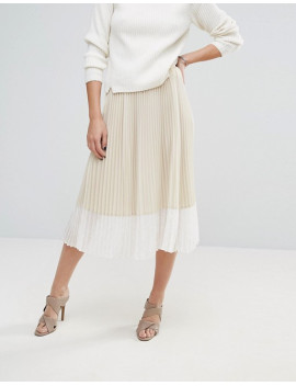 Sisley Pleated Midi Skirt .jpeg
