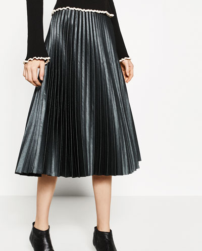Zara Leather Pleated Midi.jpg