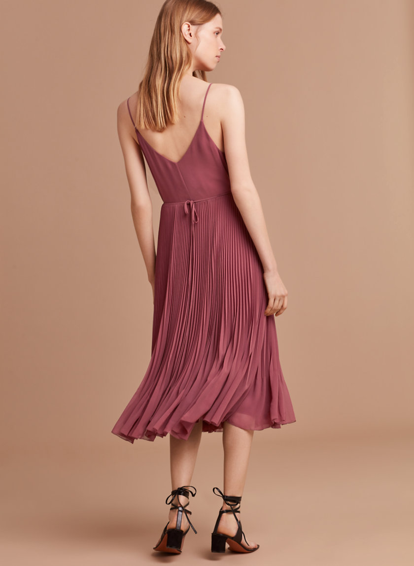 Wilfred Beaune Dress Solid.jpg