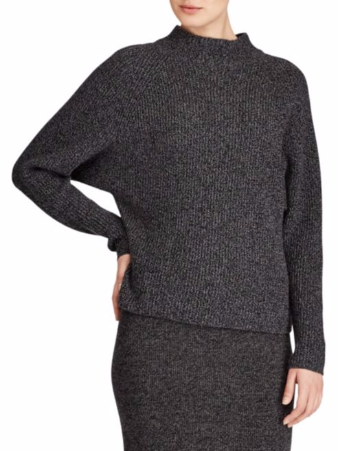 Polo Ralph Lauren Ribbed Mockneck Sweater.png