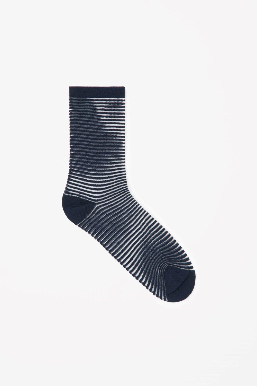 Cos Sheer Striped Sock.jpg