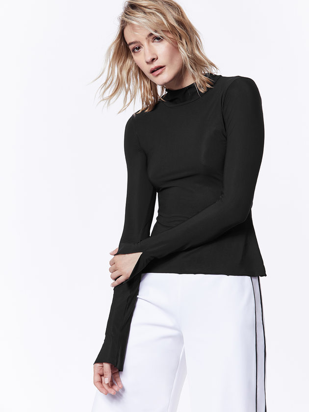 Carbon38 Mock Neck Black Long Sleeve.jpg
