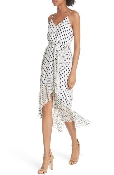 Alice & Olivia Ruffle Faus Wrap Dress.jpg