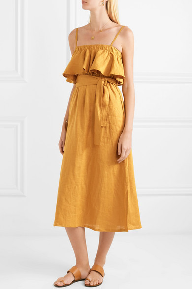 Faithful the Brand Santro Ruffle Dress.jpg