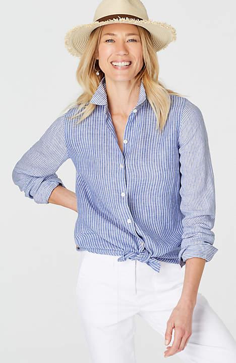 JJill Essential Linen Shirt.jpeg