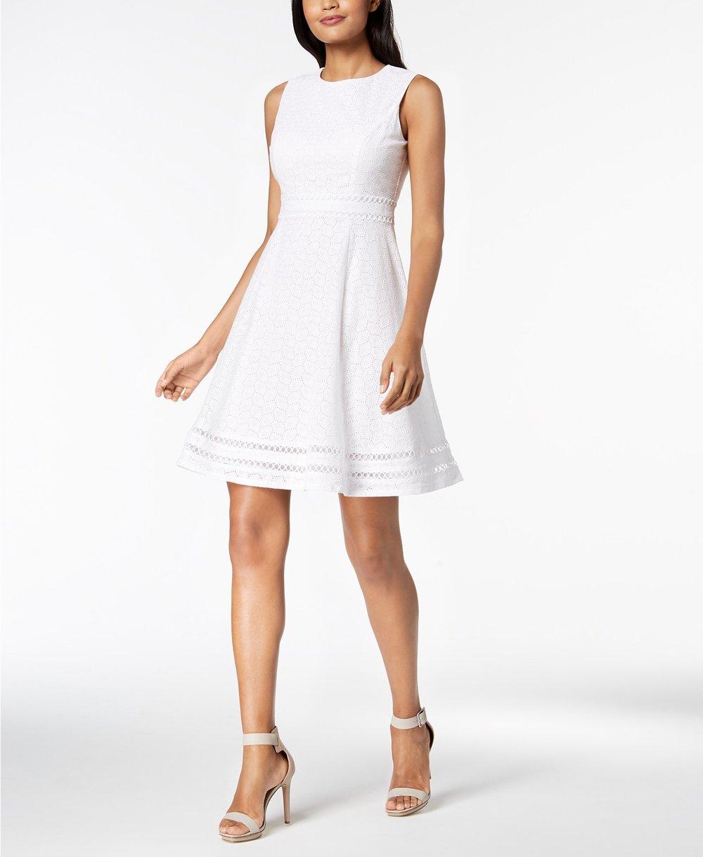 Calvin Klein Eyelet Dresss.jpeg