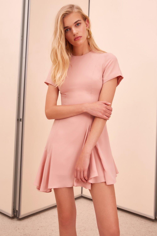 C:MEO unending short sleeve mini dress.jpg