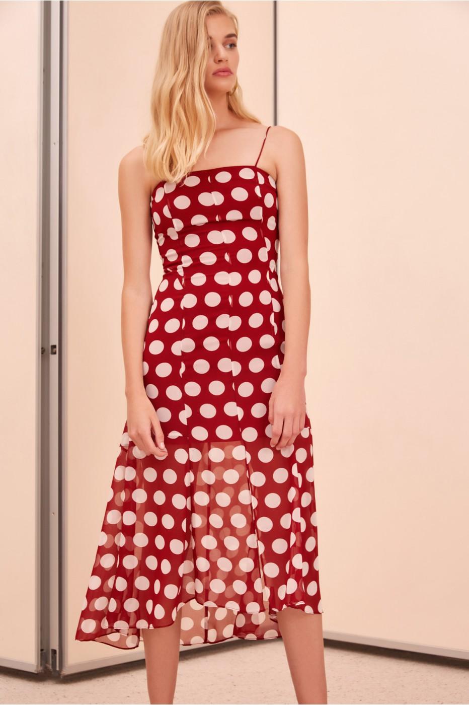 C:MEO unending short sleeve midi dress.jpg