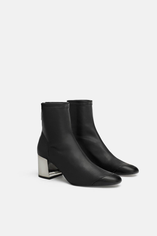 Zara Elastic Heeled Booties.jpg