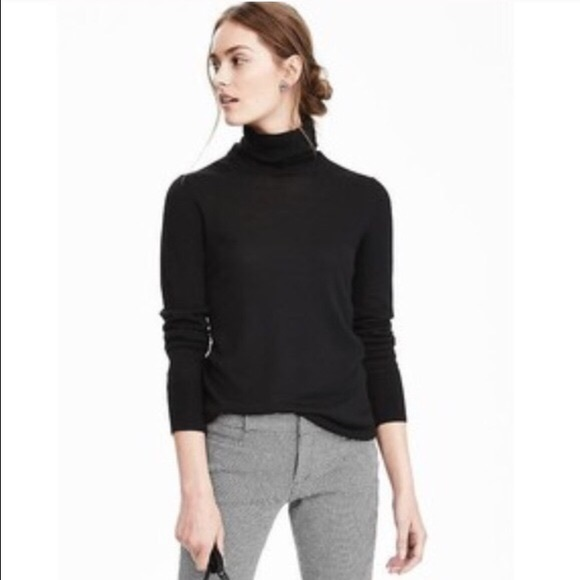 Banana Republic Black Turtleneck Sweater.jpg