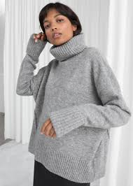 And Other Stories Wool Blend Turtleneck Sweater.jpeg