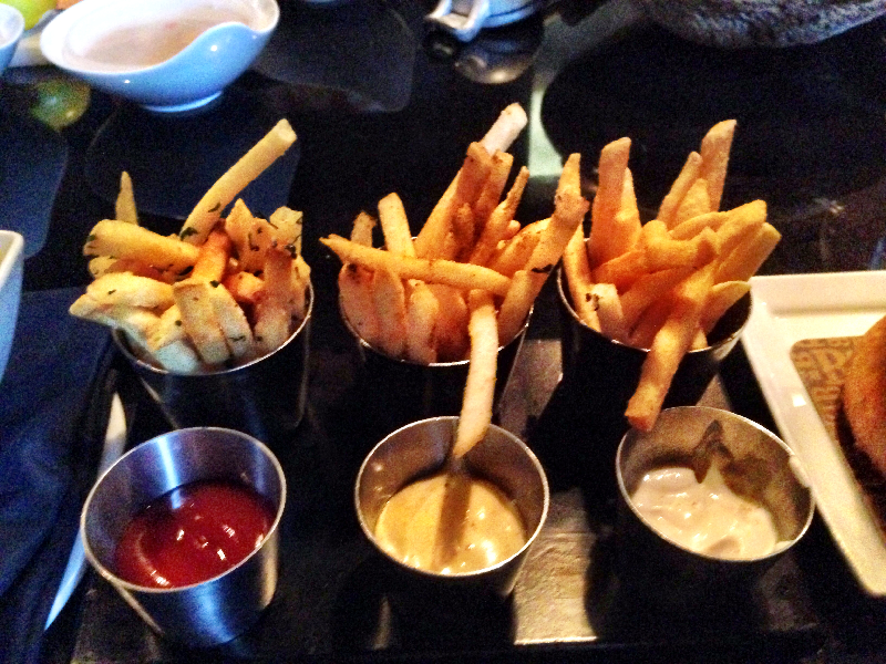 Three Flavors of Fries–Three Dipping Sauces