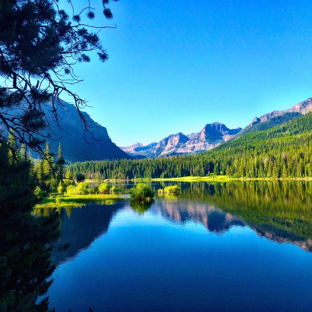 Hyalite Reservoir, Bozeman, Montana