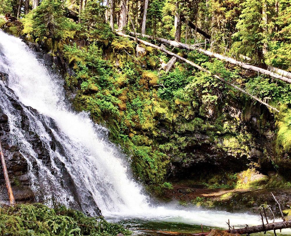Grotto Falls, Bozeman Montana