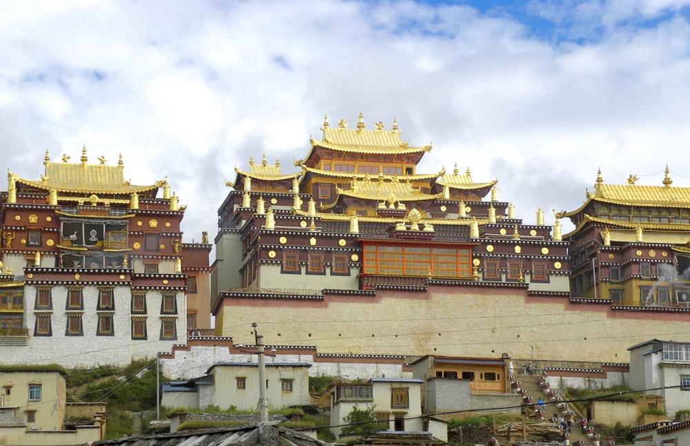 Songzanlin Monastery, Zhongdian, Yunnan province