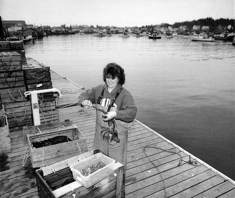 A Woman's Path: Julie Brown, scallop diver / lobster fisherman