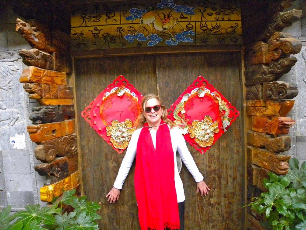 Jo in Lijiang, China