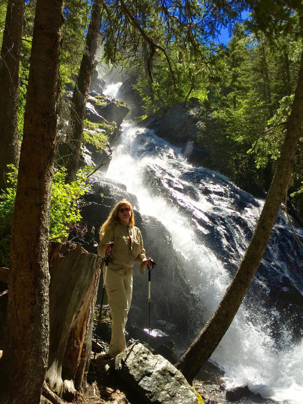 Hiking Pine Creek Trail, Livingston, Montana